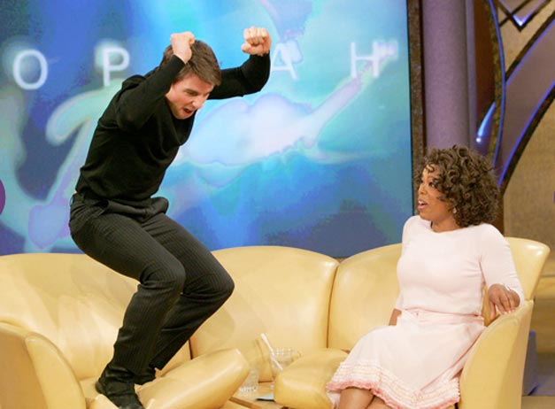 Tom Cruise couch Oprah