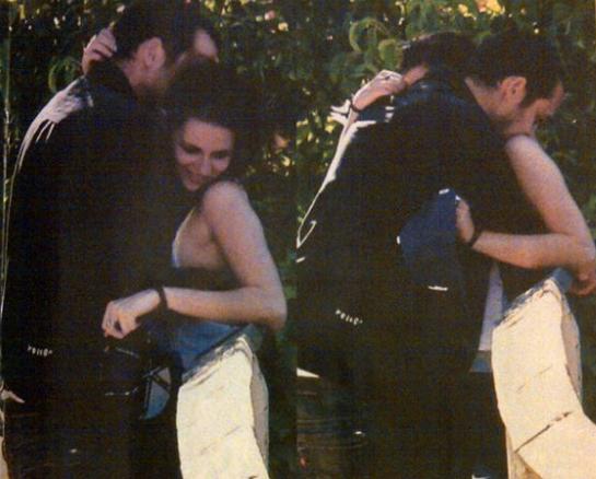 Kristen Stewart and Rupert Sanders in Us Weekly.