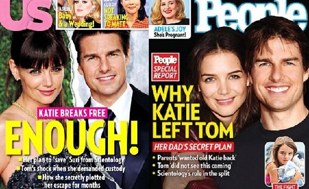 Katie Holmes Tom Cruise divorce