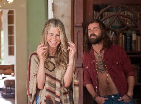 Jennifer Aniston and Justin Theroux in Wanderlust. (Universal Studios)