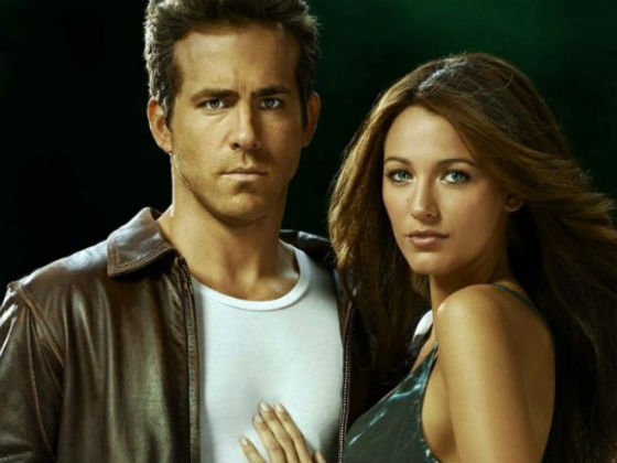 Ryan Reynolds and Blake Lively in Green Lantern. (Warner/DC)