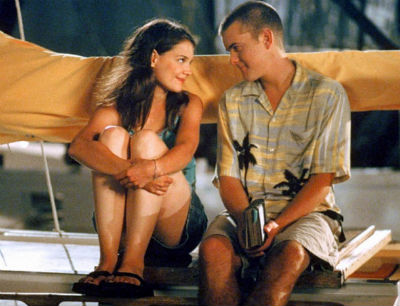 "Katie Holmes and Joshua Jackson in ""Dawson's Creek."" (The WB)"
