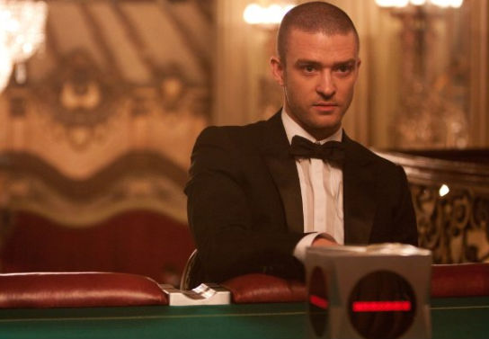 Justin Timberlake in a scene from In Time. (Twentieth Century Fox)