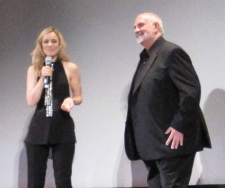 Want a blurry photo of Rachel McAdams and Brian de Palma? It's your lucky day!