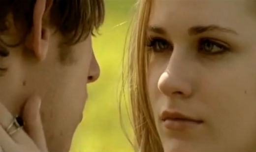 Evan Rachel Wood and Jamie Bell in Wake Me Up When September Ends.