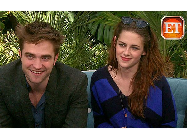 Robert Pattinson and Kristen Stewart are interviewed together for MTV. (ET)