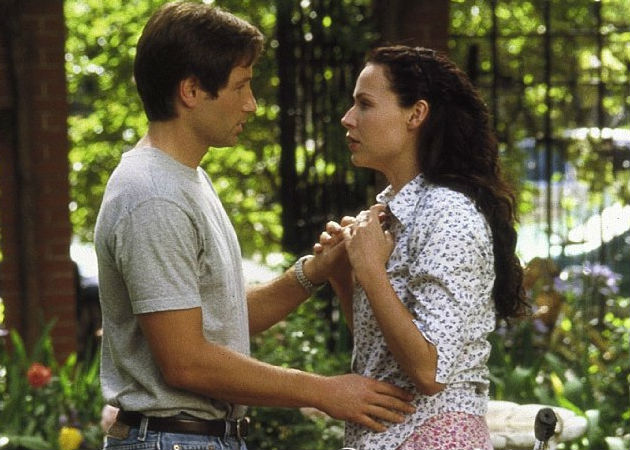 David Duchovny and Minnie Driver in Return to Me. (MGM Studios)