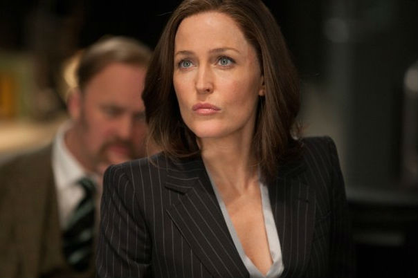 Gillian Anderson in Johnny English Reborn. (Universal)