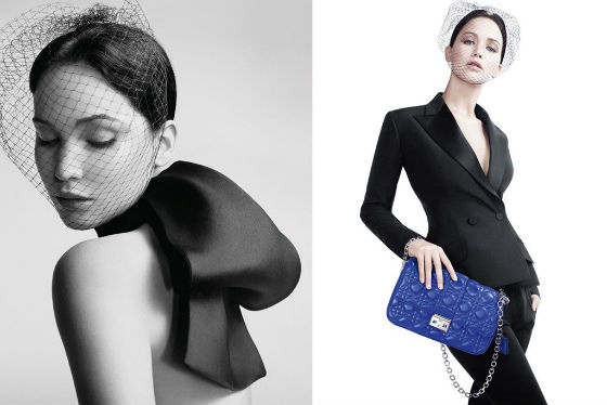 Jennifer Lawrence for Miss Dior.