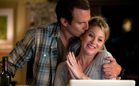 Christina Applegate and Will Arnett in Up All Night