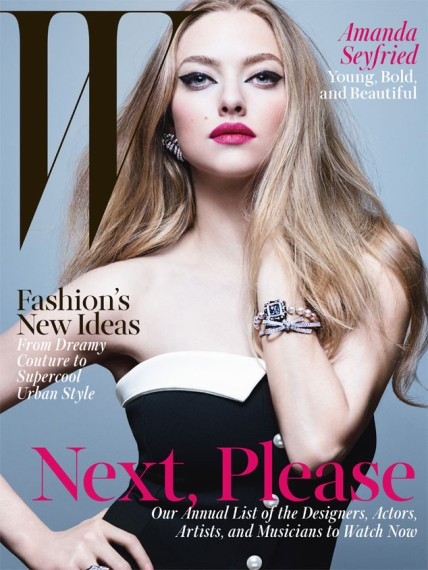 Amanda Seyfried W magazine