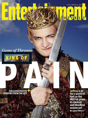 Game of Thrones EW cover