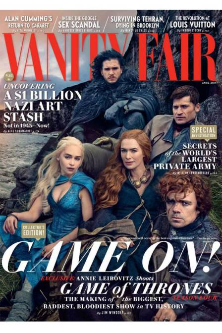 Game of Thrones Vanity Fair cover